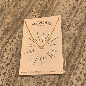 Ethika opal necklace